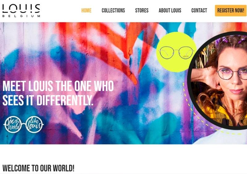 Louis Belgium website bouwen Modern Minds