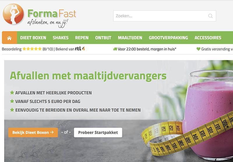 Magento Website bouwen formafast Modern Minds