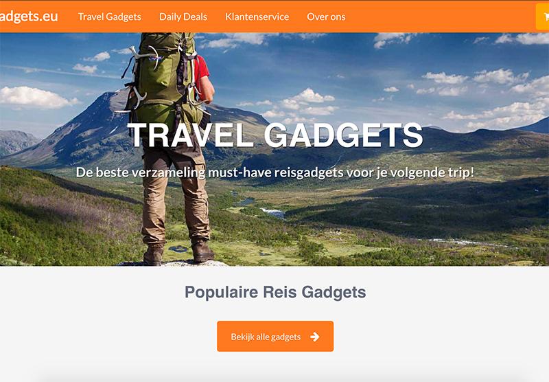 TravelGadgets website reis
