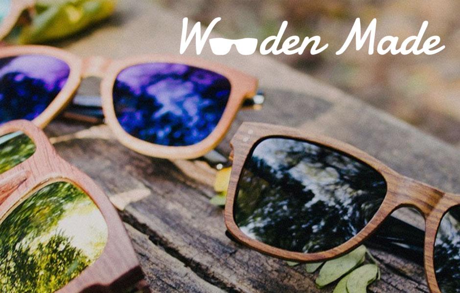 wooden made portfolio Modern Minds